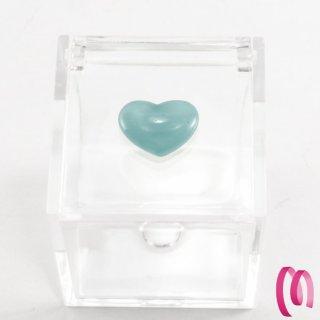 Cuoricino acrilico piccolo azzurro