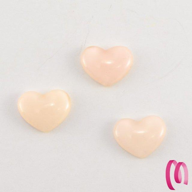 Cuoricino acrilico piccolo rosa