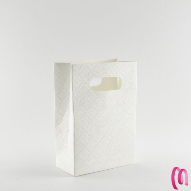 Shop box trama fiore 1 pezzo