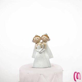 cake topper brides Gay