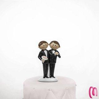 cake topper Grooms spiritosi