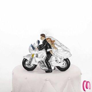 cake topper motociclisti