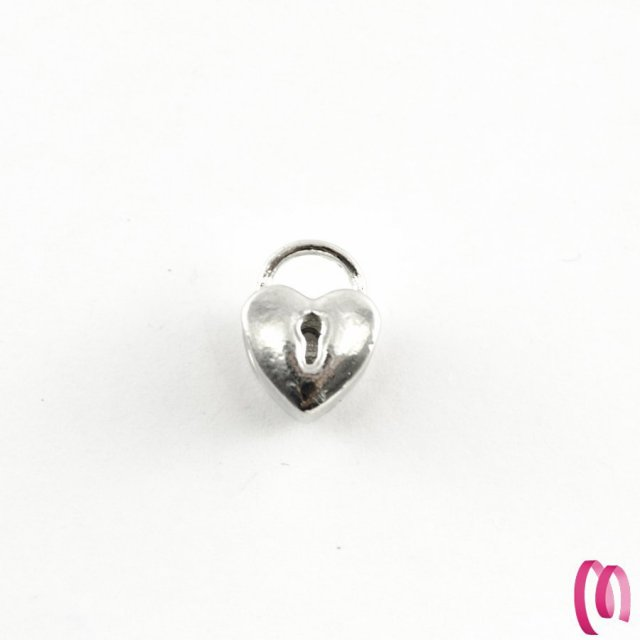 charms lucchetto cuore