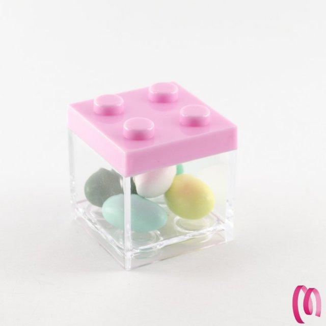Cubo Lego portaconfetti