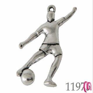 Ciondolo con calciatore