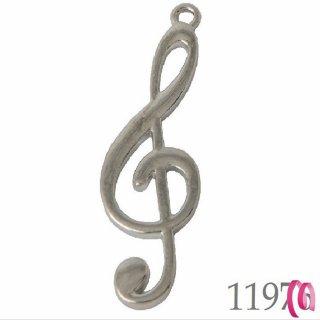 Ciondolo con chiave di violino