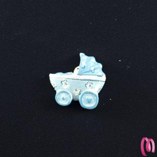 Accessorio adesivo carrozzina baby in resina 8 pezzi