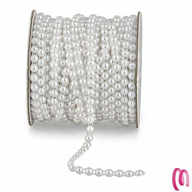 Filo di mezze perle 1 metro
