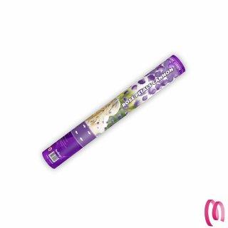 Cannone spara petali lilla