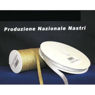 NASTRO LAME' SATIN h.10mm X 43mt.