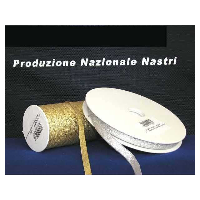 NASTRO LAME' SATIN h.25mm X 25mt.
