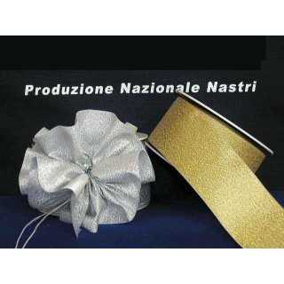 NASTRO LAME SATIN Con Tirante h.55mm X 25mt.