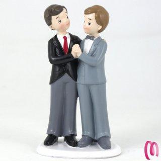 LGBT cake topper sposi Gay
