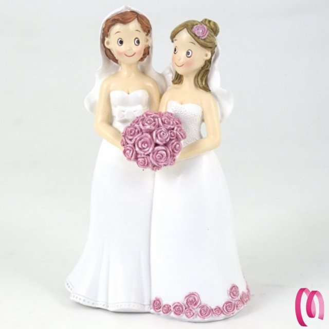 cake topper sposi Gay Donne
