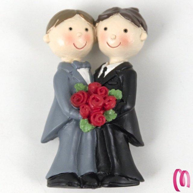 LGBT Magneti Sposi Gay confezione da 12 Pezzi