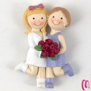 Magneti Spose LGBT Gay confezione da 12 Pezzi