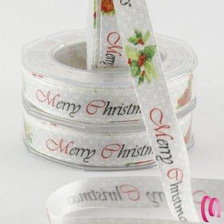 Nastro Natalizio  Merry Christmas 15 metri