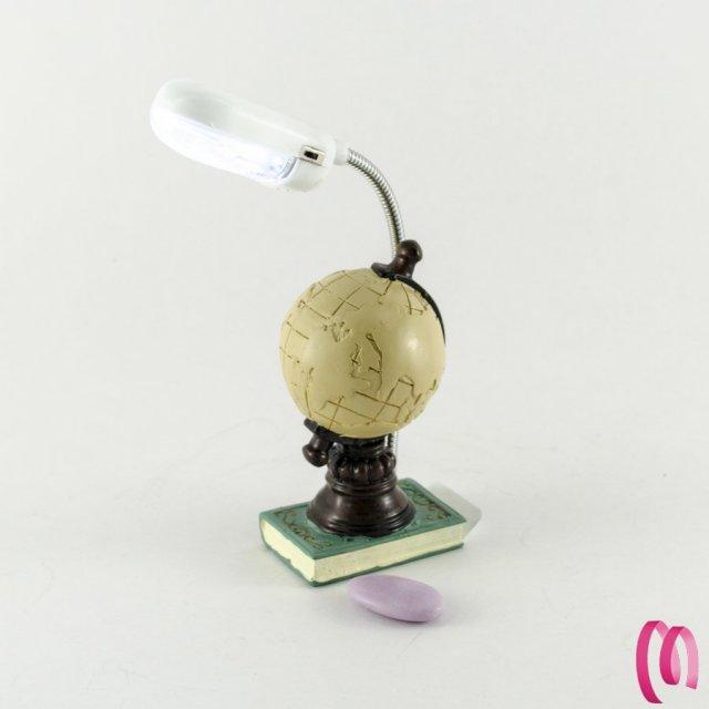 Mappamondo piccolo con luce led 1 pezzo