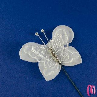Filo di fiore con strass 1 metro