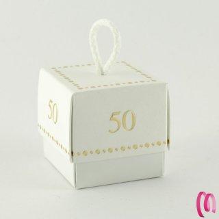 Bomboniera Scatolina 50 Anni