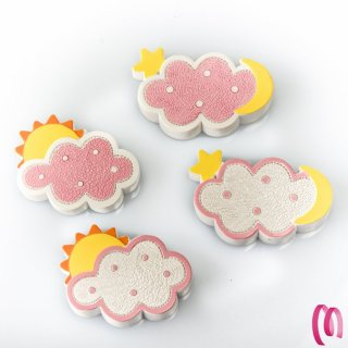 Bomboniera Magnete Nuvola Rosa