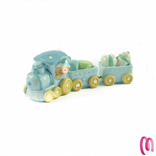 Bomboniera Treno Azzurro