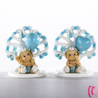 Bomboniera Bebè e Palloncino Maschio