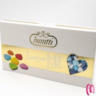 Confetti Cuoriandoli al cioccolato Fondente Buratti