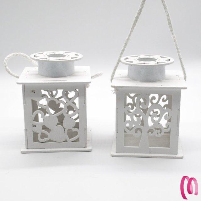 Bomboniera Matrimonio lanterna Led piccola