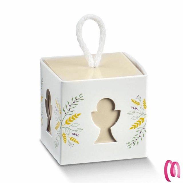 Bomboniera Portaconfetti Calice Prima Comunione per Maschi o Bambina