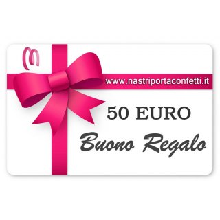 Regala Gift Card da 50 Euro