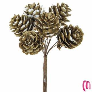 Pigna piccola Natalizia per decorazione Bomboniera o Regalo pezzi 12