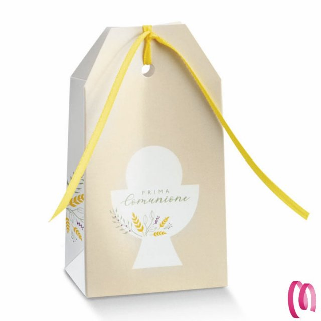 Bomboniera Portaconfetti Busta Calice Prima Comunione per Maschio o Bambina