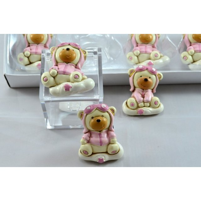 MAGETE ORSO BABY ROSA